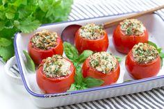 Pomidorki faszerowane tuńczykiem i ryżem #intermarche #inspiracje #tunczyk