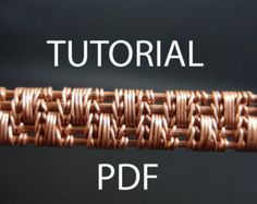 wire wrapped tutorial tutorial wire weaving pdf by MargosHandmade