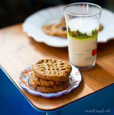 4-Ingredient Peanut Butter Cookies. Gluten-Free   Vegan Treat.