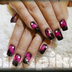 """pink brushes #nail #nails #fashion #nailart #beautiful #cute #love #art #beauty #girl #style #naildesign #polish #instagood #gliter #nailpolish #ногти…"""