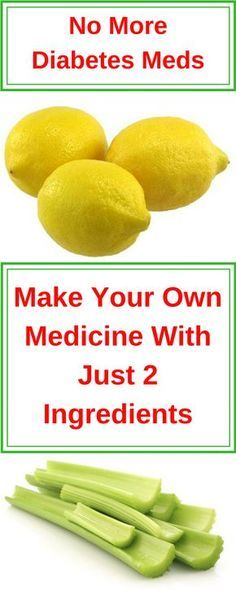 No More Diabetes Meds - Make Your Own Medicine With Just 2 Ingredients