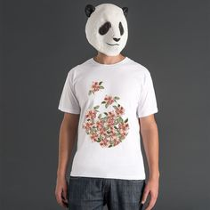 Flores - Camiseta - Masculino - by Sarah Stehling