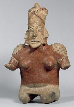 Female Figure  Date: 1st century BCE–3rd century CE Geography: Mexico, Mesoamerica, Jalisco Culture: Jalisco