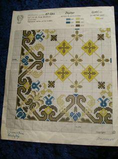 (35) Gallery.ru / Фото #17 - Старые и очень старые датские схемы - elenavallem Stitch 2, Cross Stitch, Quilts, Embroidery, Blanket, Rugs, Crafts, Patterns, Home Decor