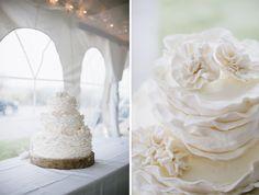 Cute White Rose Cake| Natalie Franke | Share from www.fotavo.com #Wedding Food & Drink #Wedding photographer