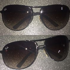 f61cb3d12 Ray-Ban Sunglasses Ray-Ban Sunglasses. Gunmetal Frame/Brown Gradient Lens  Features