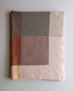 Our new Shadow Study Blanket makes an in-depth exploration of how lights turn to. Our new Shadow Study Blanket makes an in-depth exploration of how lights turn to shadows when colors are thoughtfully ch. Yarn Projects, Knitting Projects, Crochet Projects, Sewing Projects, Knitted Afghans, Knitted Blankets, Hand Knitting, Knitting Patterns, Colors