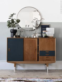 6 of the best interior DIY projects - Sideboard - Einrichtung Vintage Furniture, Home Furniture, Furniture Design, Furniture Ideas, Industrial Furniture, Industrial Bedroom, Office Furniture, Wooden Furniture, Bedroom Furniture