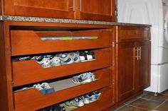 47 Elegant Diy Storage Rack Ideas For Small Kitchen. The building blocks of the heart of homes, kitchen cabinets are among the major features that are mainly involved in most remodeling projects. Diy Storage Rack, Shoe Storage, Storage Ideas, Small Kitchen Pictures, Freestanding Kitchen, Laundry Room Inspiration, Kitchen Cabinets, Kitchen Appliances, Moldings And Trim