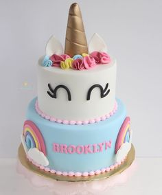 786 vind-ik-leuks, 11 reacties - mg_f1685 (@fromscratch06) op Instagram: 'Unicorn cake, I say this every time I make one but, it's one of my favorites! #cake #cakes…'
