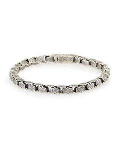 Minos Men's Thin Link Bracelet