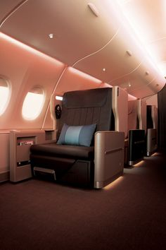 The all new Singapore Airlines Business Class.