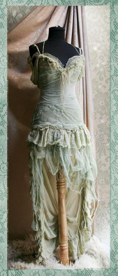 Lady Of The Swamps Dress by Moonalia on Etsy