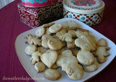 Cookies are made of butter and love. ~Norwegian ProverbThese cookies just melt in your mouth. I have never seen anyone that did not love them!  Some people call these shortbread cookies and others ...