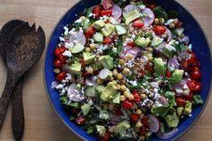 summer salad series - greek grain salad — Crunchy Radish
