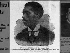 Dr. J. R. A. Crossland ~ St. Joseph, MO ~ Aug 14, 1916 on page 1