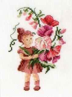 Bouquet - Mon journal au point de croix - Sophie Bester-Baqué, Véronique Enginger