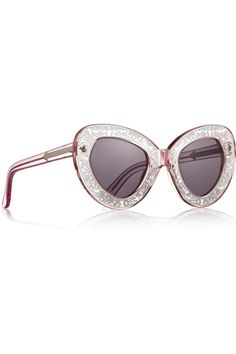 Karen Walker Intergalactic cat eye sunglasses