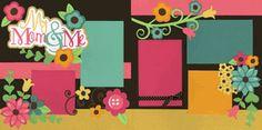 My Mom & Me-Girl Page Kit