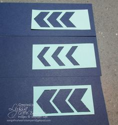 Mini Photo Tutorial: fancy borders with the Chevron Punch, part three