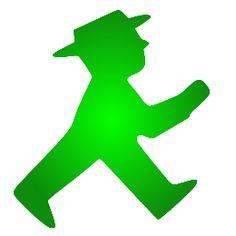 Der grüne Ampelmann darf die Helden und http://die-Heldenhelfer schon seit langem zur Erleuchtung führen ...