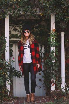 Boyfriend clothes for fall fashion