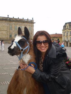 Bethoveen & me in Bogotá, Colombia. I love this city a lot Cut Animals, Just Go, Beautiful People, Horses, Landscape, Love, Country, Beauty, Bogota Colombia