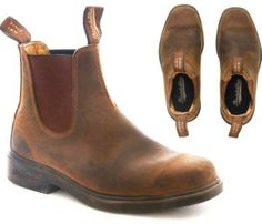 The Chisel Toe in Crazy Horse Brown  by Blundstone-it was for me love at first sight