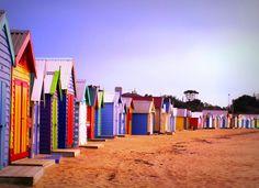 Photo Essay: 16 of the Best City & Urban Beaches Brighton Beach Melbourne, Melbourne Cafe, Visit Melbourne, Melbourne Australia, Scenery Pictures, Cool Pictures, Cinque Terre Italia, Santorini Grecia, Victoria Australia
