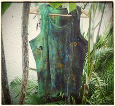 COLEÇÃO: SWEET DREAMS, de Yuri Salgado. Pintura Artesanal. 100% Algodão. Lavar a mão!!! Facebook/auraecores