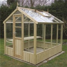 BillyOh Swallow Kingfisher Pressure Treated Wooden Greenhouse