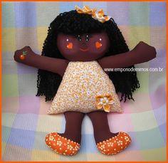 Boneca negra linda!                                                                                                                                                                                 Mais