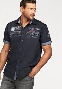 Arizona Poloshirt in Piqué-Qualität, Piqué Polo mit Stickerei auf der Brust online kaufen Polo Rugby Shirt, Polo Team, Jeans Und Sneakers, Summer Shirts, Slim Fit, Shirt Style, Chef Jackets, Men Casual, Husband