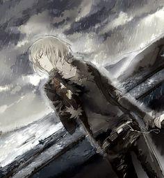 Death Note; Mello fanart