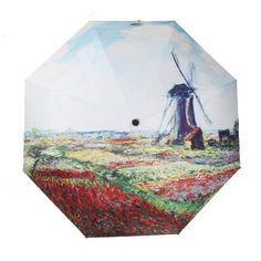 Dutch Windmill Sunny Umbrella from infpass.com