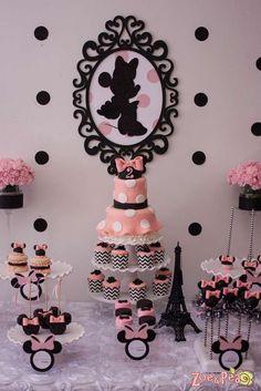decoracion-fiesta-minnie-mouse - Curso de organizacion de hogar aprenda a ser organizado en poco tiempo