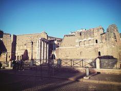 Fori Imperiali a Roma. #Rome