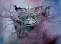 "Anne Bachelier / ""The Cheshire Cat"" dans ""Alice's Aventures in Wonderland"" de Lewis Carroll"