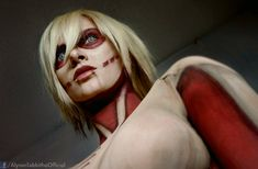 Female Titan Cosplay by AlysonTabbitha.deviantart.com