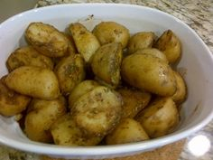 Balsamic and Rosemary Glazed Potatoes