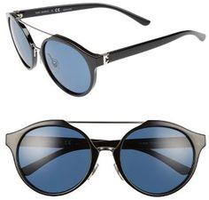 Women's Tory Burch 54Mm Sunglasses - Black/ Silver #sunglasses #womens #summer