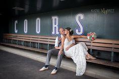 Denver Wedding Photographer | Coors Field Wedding | Base Ball Wedding | Katie Britt Photography