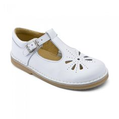 Tea Party, White Patent Girls Buckle Sandals - All Girls' styles - Girls Shoes