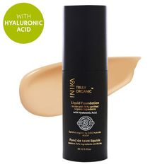 Liquid Mineral Foundation with Hyaluronic Acid INIKA - Tan