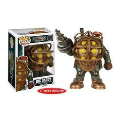 BioShock Big Daddy 6-Inch Pop! Vinyl Figure Bioshock  -  $17.41 + $4.99