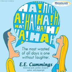 Don't let this day go to waste. #Laugh!