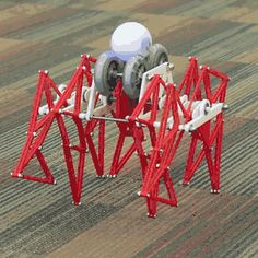 Sphero Riding Strandbeest Is A Robot With An Exoskeleton http://ift.tt/1PyYD3d