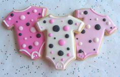 GOOD N  PLENTY  Baby Onesie Cookie Favors  Baby by lorisplace,