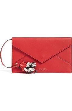 bcd0c206446 MARC JACOBS Rooster Envelope Clutch.  marcjacobs  bags  leather  clutch   hand bags