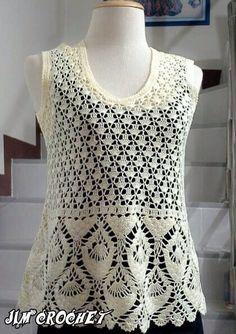Crochet Top Outfit, Crochet Cardigan, Crochet Clothes, Crochet Motif, Crochet Baby, Knit Crochet, Crochet Patterns, Clothing Patterns, Dress Patterns